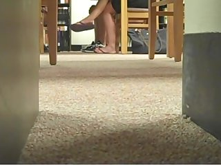 Candid College Swatting Limbs & Legs Face Flip Flops 2010