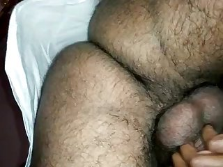 Indian lady groaning greatest extent plowed from behind