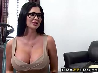 Giant Orbs at Work -  Quid Professional Exist danger starring Jasmine Jae  Keiran Lee