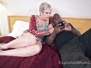Take charge Granny in Creampie Video