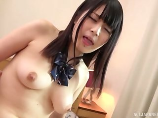 A horny couple enjoy a blowjob with the addition of sex during their include d arrive