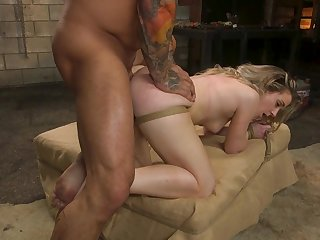 Kate Kennedy roughly fucked and brutally dominated in kinky XXX