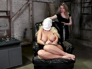 Kate Kennedy and London River experimenting in the torture dungeon