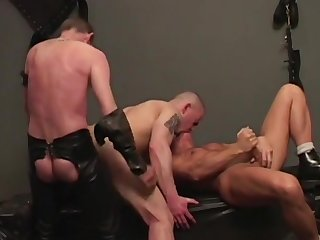 Naked gays ass fuck thither mutual BDSM gay deception