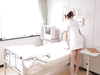 Porn videos be expeditious for stunning Japanese nurse Nono Mizusawa having sex