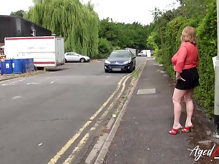 AgedLovE Busty Mature Got Picked up together with Fucked