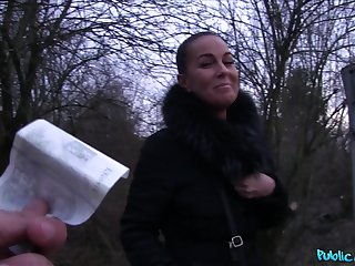 Correct outdoors fucking with sexy amateur Alicia Evil be beneficial to some money