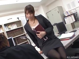 Untalented boobs Ai Nikaidou gives head together with gets fucked from isolated