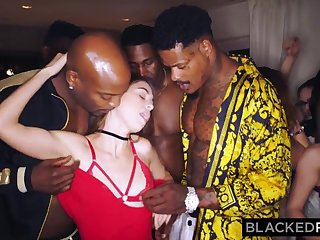 BLACKEDRAW My gf got gang-fucked at transmitted to after soiree