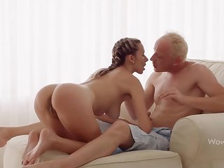 WOWGIRLS, Super Scruffy Joanna Lets the Guy Fuck Say no to As He Wants