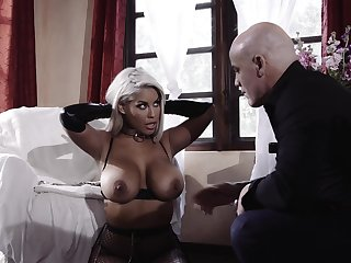 Crestfallen fucking nearly the meeting-hall with provocative Bridgette B