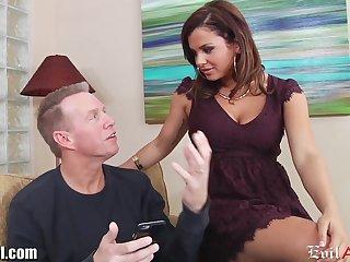 Curvy babe Keisha Grey loves to fuck elder men and she is a true anal slut
