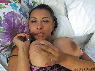 Morning masturbation with Danica Collins - Danica collins