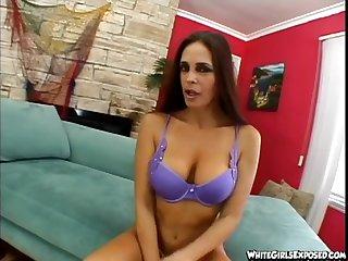 MILF floozy nearly interracial fetish takes big cock