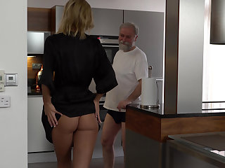 Grandpa's vitalized be worthwhile for young pussy